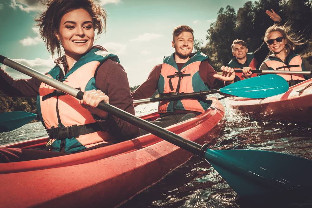 Pasión por el kayak