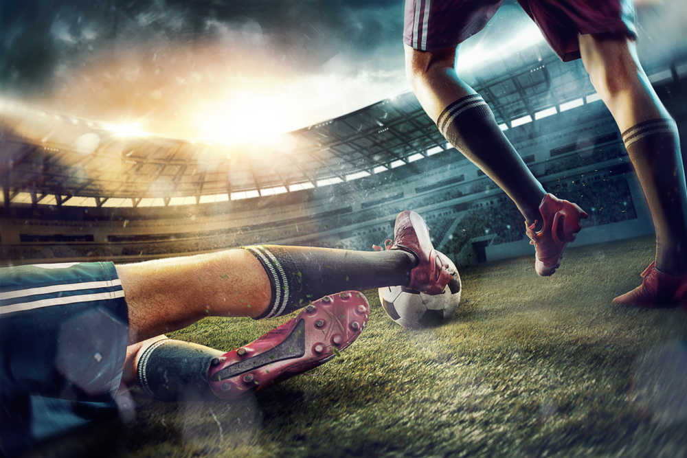 El pie y el fútbol